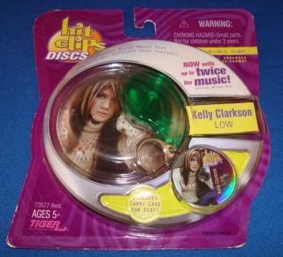Tiger Electronic Hit Clips Kelly Clarkson Low Disc Case New SEALED