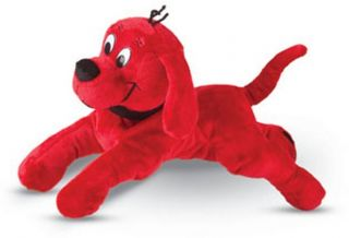 Cuddle Toys 15 Lying Plush Clifford The Big Red Dog New