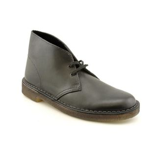 Clarks Originals Desert Boot Mens Size 7 5 Black Leather Desert Boots