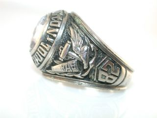 VINTAGE 1982 CLASS ARLINGTON HIGH SCHOOL STERLING SILVER RING