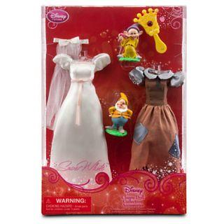 Disney Princess SNOW WHITE Doll barbie Accessories Wardrobe & Friends