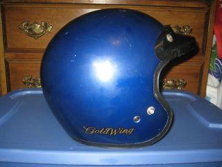 Blue Arai Classic R GL Goldwing Large Helmet w Black Visor Dot Snell