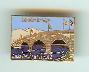 Lake Havasu City London Bridge Lapel Collectable Pin Arizona