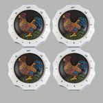Clementine Design Electric Stove Knobs Home Kitchen Decor Rooster New