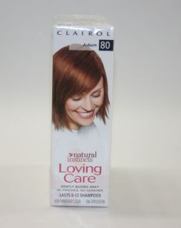 Clairol Loving Care Natural Instincts Auburn 80 Lot of 3 boxes hair