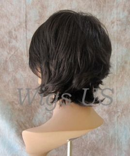 Long Layers Bangs Choppy Angles Great Movement Medium Dark Brown Wig