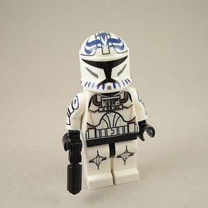 Lego Star Wars Clone War Clone Trooper Pilot Axe