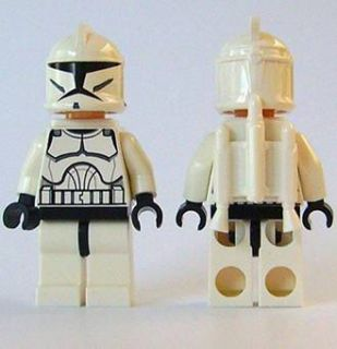 Lego Star Wars Clone Jet Trooper Minifig 7748 Jetpack
