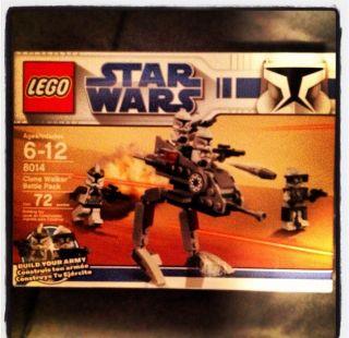 Lego Star Wars The Clone Wars Clone Walker Battle Pack (8014)