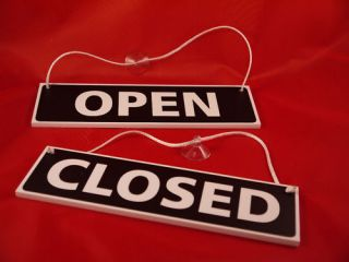 Open Closed Sign Window Door Hanging Sign