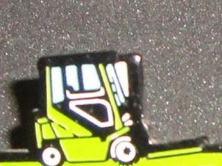 Clark Forklift Fork Truck Enamel Metal Pin Tack Badge