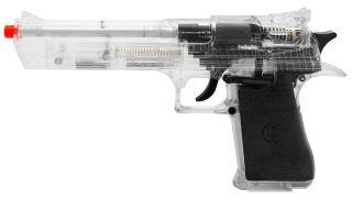Eagle 44 Magnum High Impact Spring Airsoft Hand Gun Kit Clear