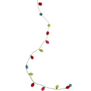RAZ Christmas Light Bulb Garland Christmas Tree Ornament and
