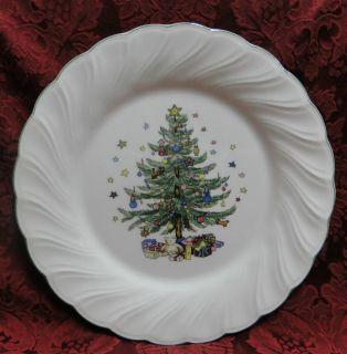 Nikko Happy Holidays Christmas Tree Dinnerware Items