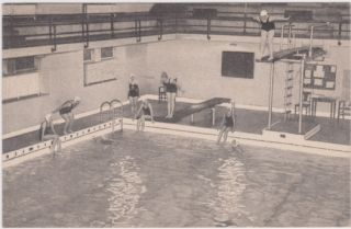 Used 1937 PC View Swimming Pool Central YMCA Cleveland Oh