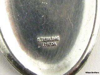 Saint Christopher   Catholic Protection Prayer Token Pendant Sterling
