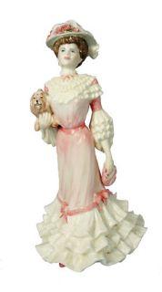 """Coalport Lady Figurine Golden Age """" Georgina """""""