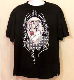 Joker Brand Mister Cartoon Tee Punk Clown Bad Boy XL