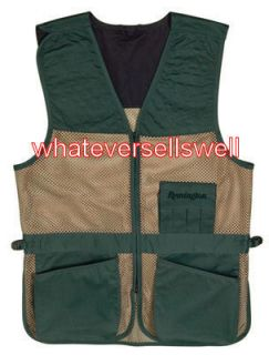 Large Remington Shooting Vest Skeet Trap Clay Pigeon Target