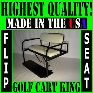 Club Car Precedent Golf Cart Rear Flip Back Seat Kit
