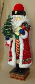 CHRISTOPHER RADKO GIANT 36 MUSIC NUTCRACKER GRAND OLD ST. NICK LTD