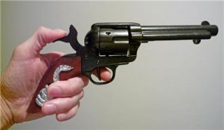 clint eastwood movie prop western cowboy colt 45 gun