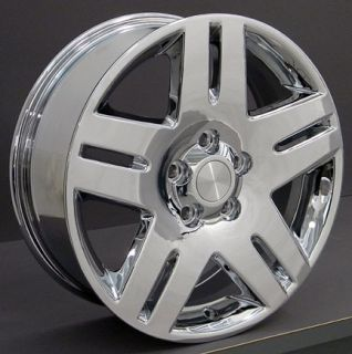 17 rim fits chevy impala wheels chrome 17x6 5 set