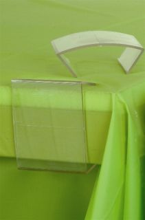 Clear Plastic Table Cover Table Cloth Clips Clamps Thick Thin Tables
