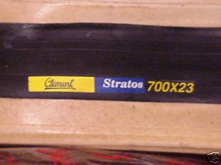 New ♣clement♣ Stratos 700 x 23 Tires Black Bicycle Bike Fit MTB GT