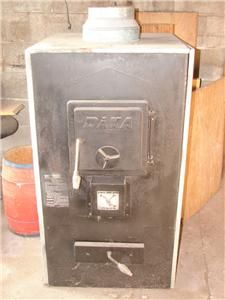 Daka Wood or Coal Burning Stove Heater Furnace Model 521