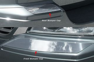 New 04 06 Chrysler Pacifica Front and Rear Bumper Cap Mirror Polished