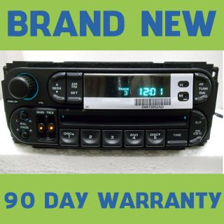 Dodge Dakota Neon Chrysler Sebring Jeep Cherokee Radio CD Player 98 99