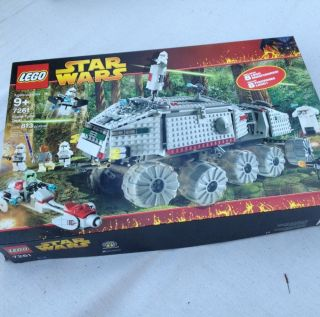 Star Wars Lego Clone Turbo Tank 7261