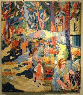 1965 Antonio Sereix Codina Tapestry Painting Spanish Artist Spain