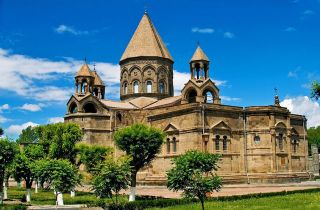 Genuine Original Armenia Armenian Church Cathedral Etchmiadzin Model