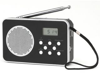 Coby CXCB92 9 Band Am FM Shortwave Pocket Radio Digital Display with