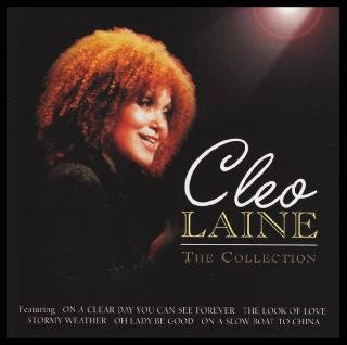 Cleo Laine The Collection CD 70s 80s Jazz Pop Greatest Hits Best New