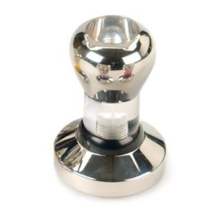 RSVP Coffee Barista Espresso Tamper 58mm Base Clear Body Stainless