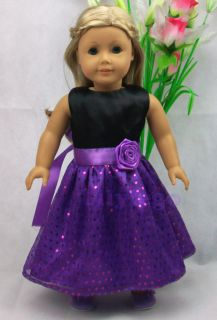 Doll Clothes Outfit For 18 American Girl Dolls Set New LASD03