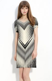 Donna Morgan Print Jersey Dress