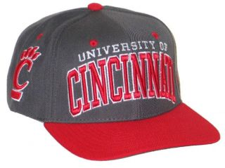 Cincinnati Bearcats UC Vintage Gray Super Star Snapback Adjustable Hat