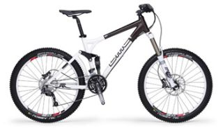 bmc supertrail st01 with 160mm front and rear end suspension