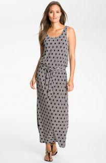 MICHAEL Michael Kors Deco Print Maxi Dress