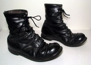 Vintage Vietnam NAM War Era Military Combat Boots Mens Size 12 Dated