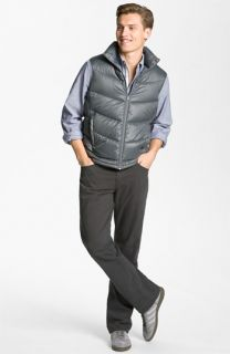 Bernardo Down Vest & AG Jeans Straight Leg Pants