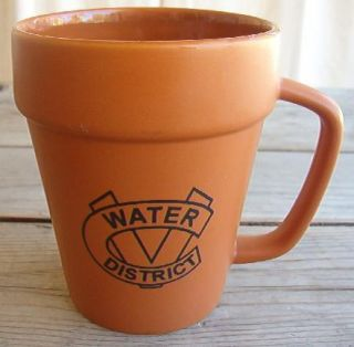 Coffee Mug Flower Pot Coachella Valley Water District