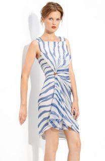 Cut25 Zebra Print Silk Dress