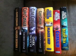 Clive Cussler The Oregon Files Hardcover books #1 7 Golden Buddha
