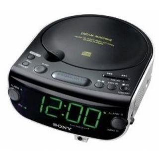 SONY DREAM MACHINE ICF CD815 AM/FM Stereo CD Clock Radio w/ Dual Alarm