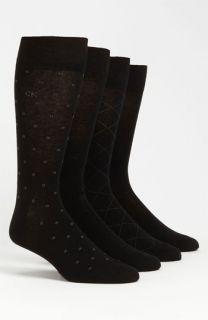 Calvin Klein Patterned Socks (4 Pack)